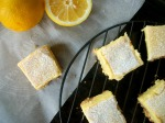 low sugar lemon squares