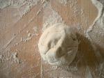 reduced gluten + whole grain pizza dough