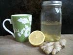 Lemon Ginger Cleansing Tea