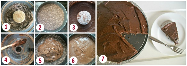 mousse cake steps